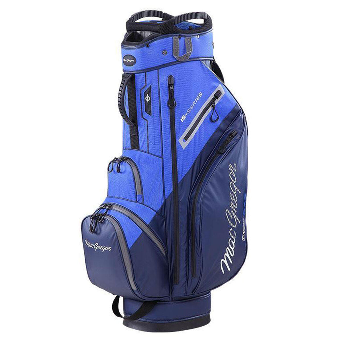 MacGregor 15-Series Water-Resistant Golf Cart Bag, Navy/royal   American Golf
