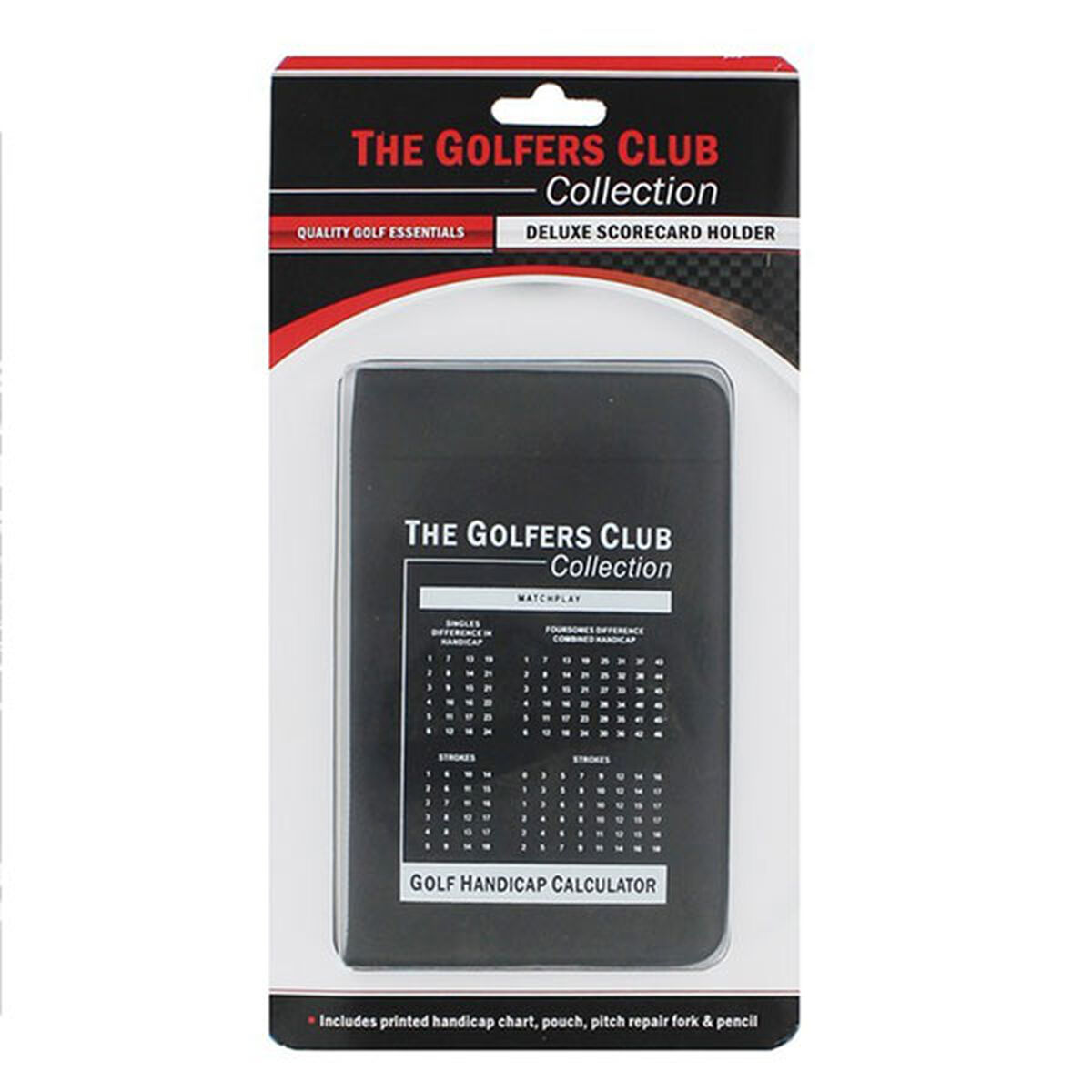 The Golfers Club Deluxe Scorecard Holder, Male, One size | American Golf