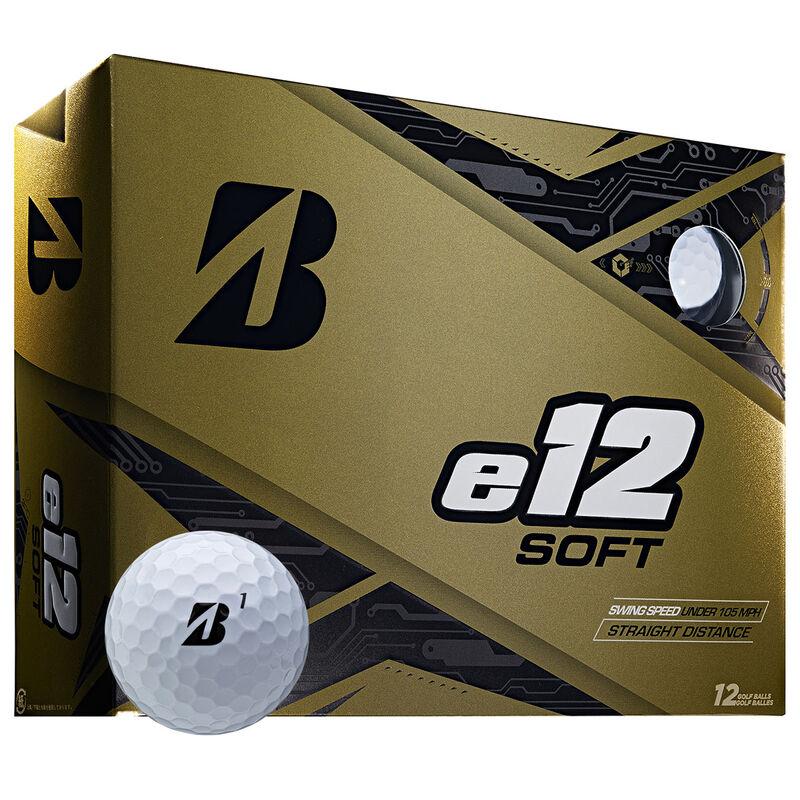 Bridgestone Golf e12 Soft 12 Ball Pack Male White