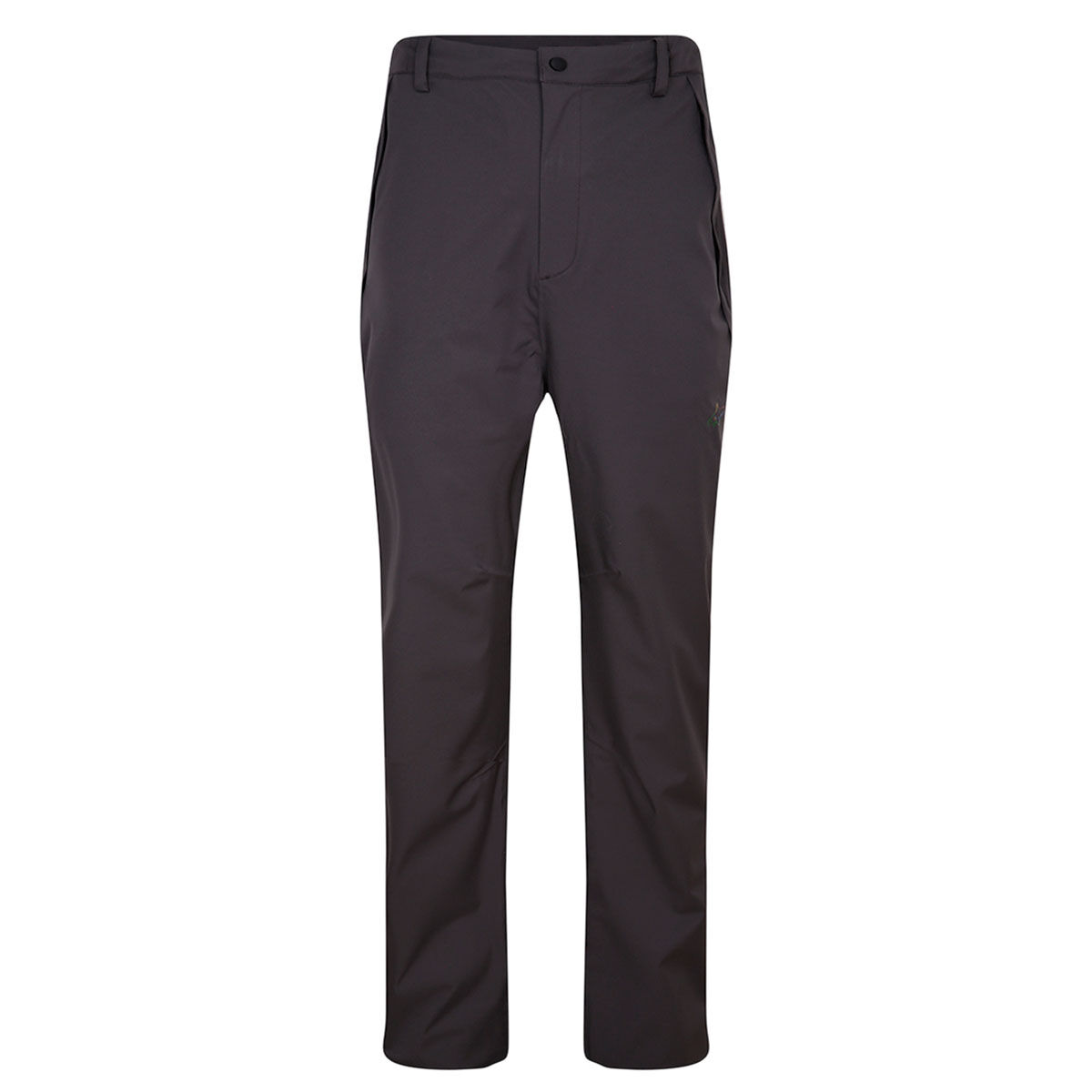 Greg Norman Dorsal Waterproof Golf Trousers, Mens, Charcoal, Large   American Golf
