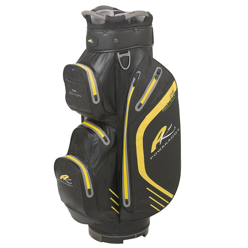 PowaKaddy Dri Edition Cart Bag Male Black Yellow
