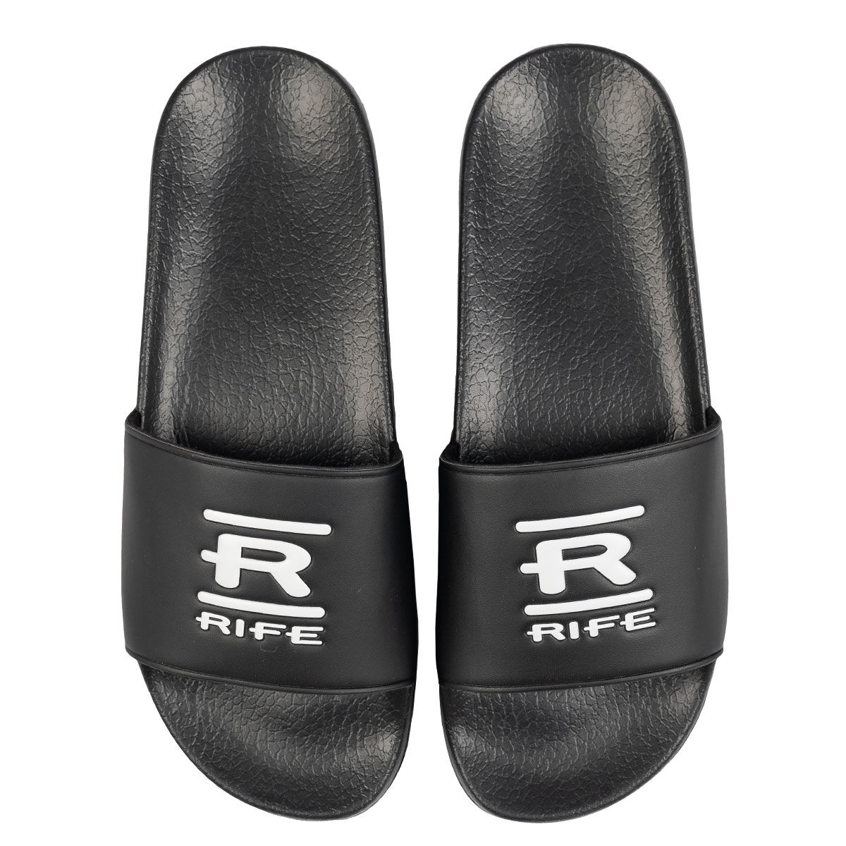 Rife Mens Black Lightweight Golf Sliders, Size: 10