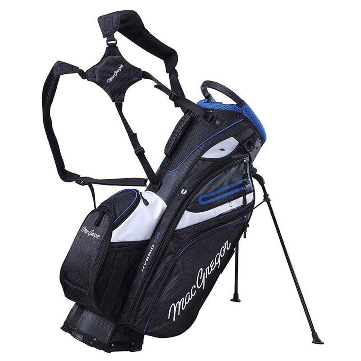 MacGregor Hybrid 14 Golf Stand Bag, Black   American Golf