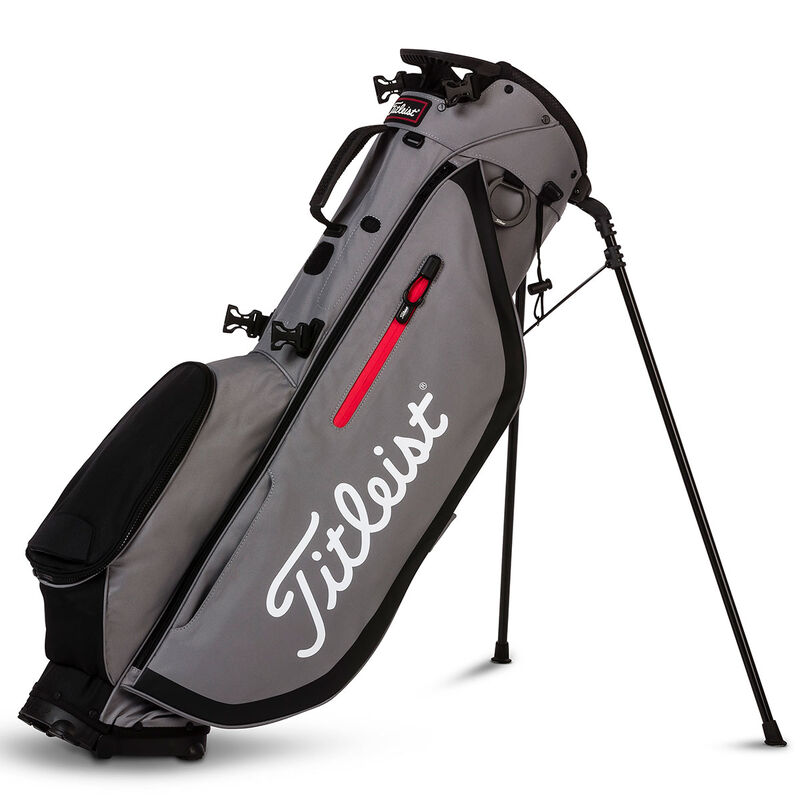 Titleist Players 4 Stand Bag Male SleetBlack