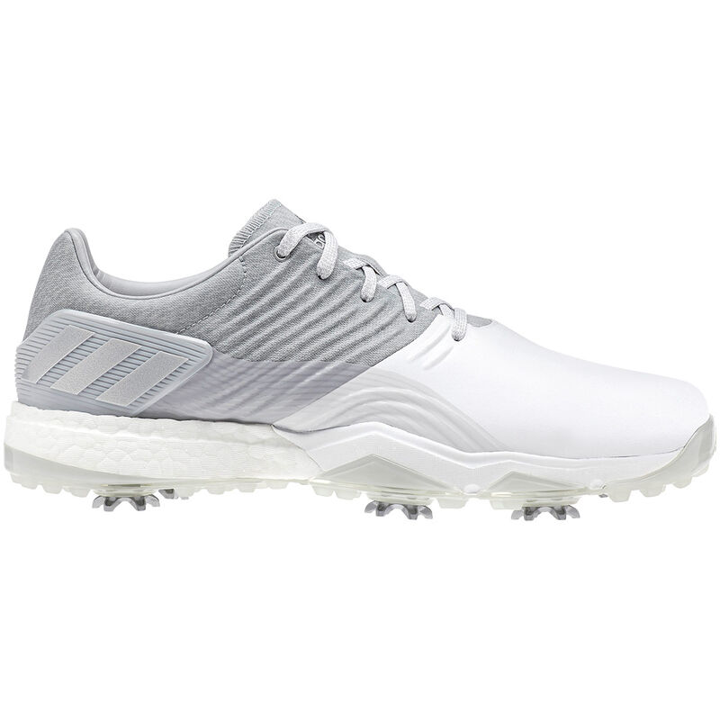 adidas Golf Adipower 4Orged Shoes Male Clear OnixWhiteSilver Met 105 Wide