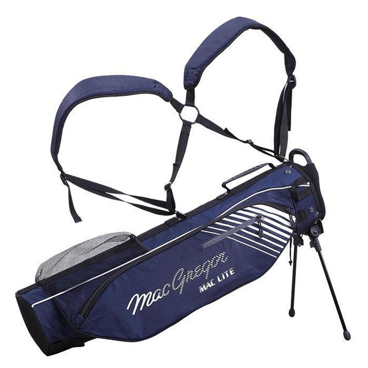 MacGregor MAC 4.0 Flip Golf Stand Bag, Navy   American Golf