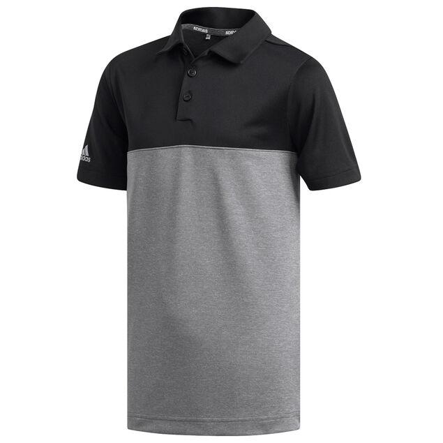 ce92c060 adidas Golf Heather Colour Block Junior Polo Shirt from american golf