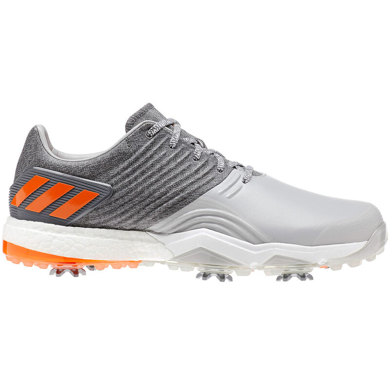 adidas Golf Adipower 4Orged Shoes Male Grey TwoGrey FourEnergy Oran 10 Wide