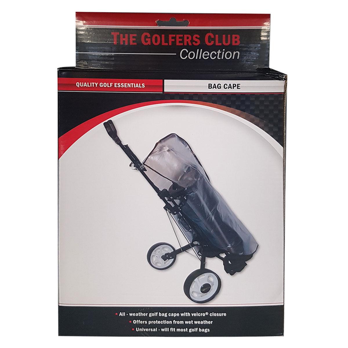 The Golfers Club Clear Bag Cape, Male, Full rain cover, One size, Clear | American Golf