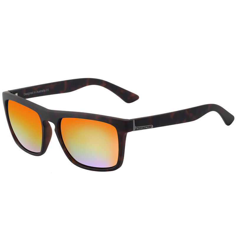 Dirty Dog Ranger Mirror Polarised Sunglasses Male TortoiseOrange
