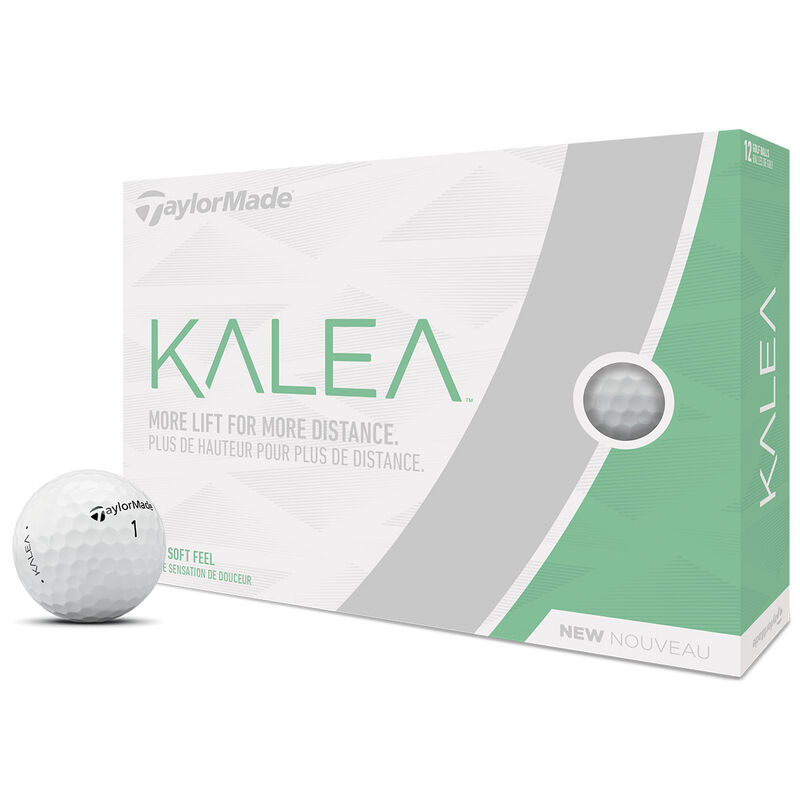 TaylorMade Kalea Lady 12 Ball Pack Female White