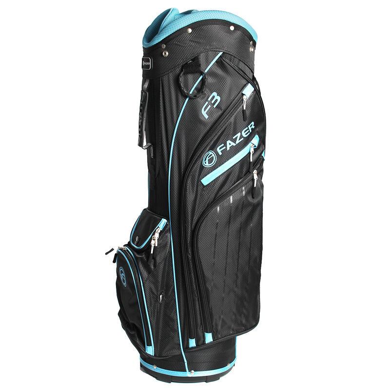 Fazer F3 Ladies Cart Bag Female BlackLight Blue