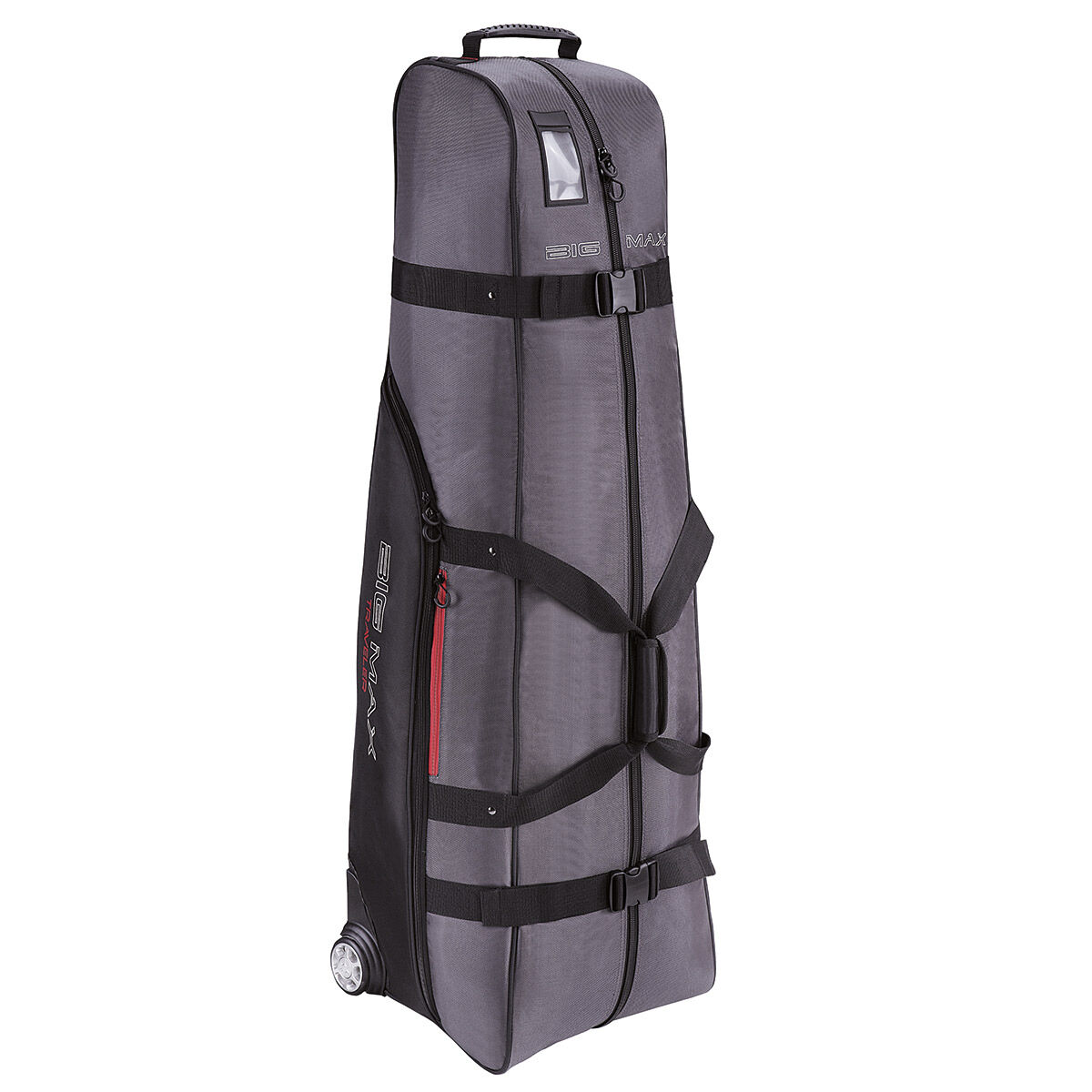 BIG MAX Charcoal Grey and Black Traveller Travel Cover, One Size | American Golf