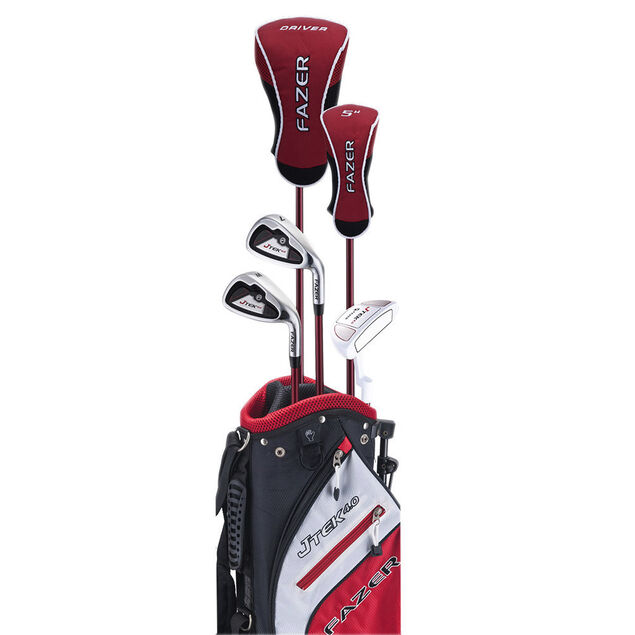 Fazer J Tek 4 Age 9-11 Junior Package Set from american golf 11f8fea530b1