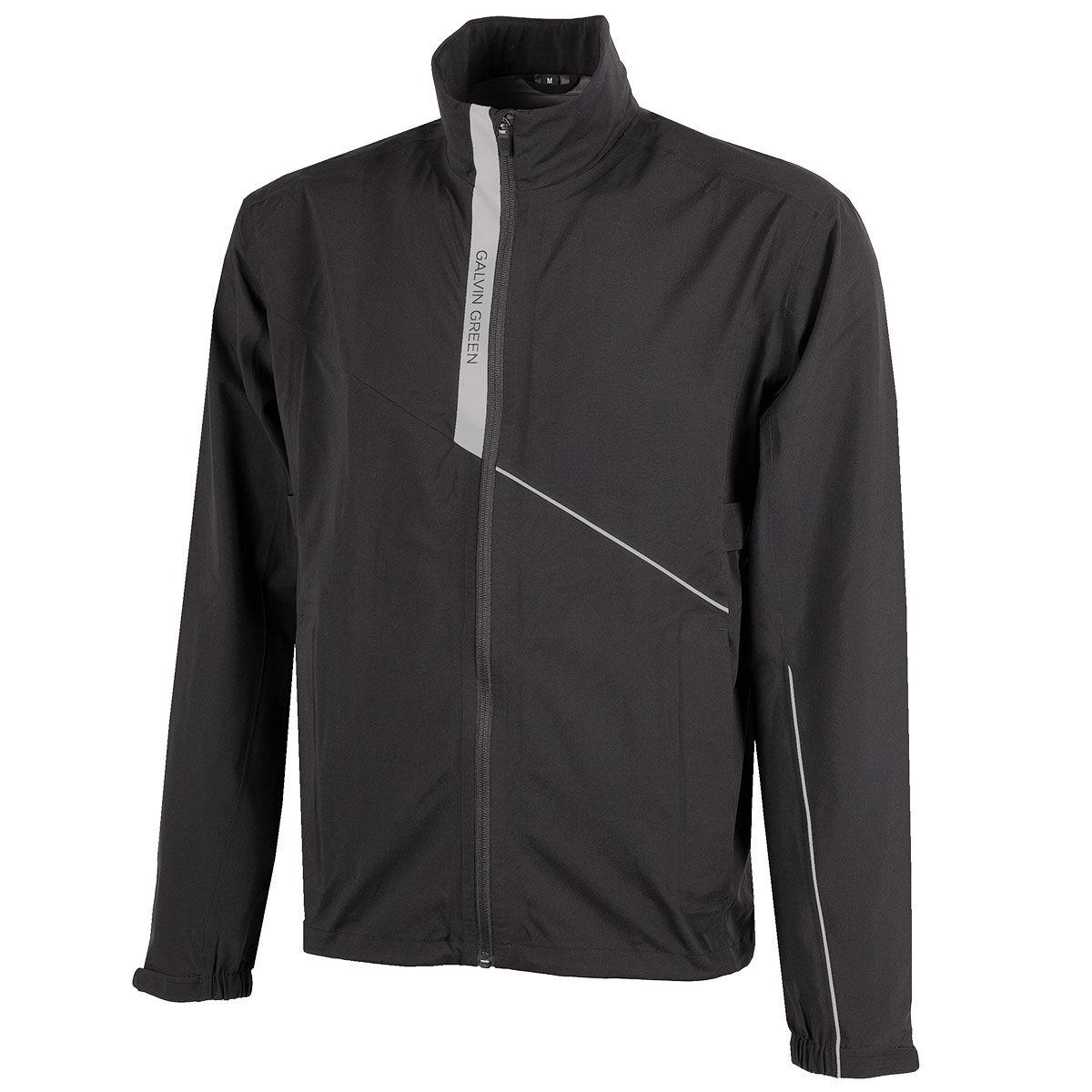 Galvin Green Apollo Golf Jacket, Mens, Black/sharkskin, Large   American Golf