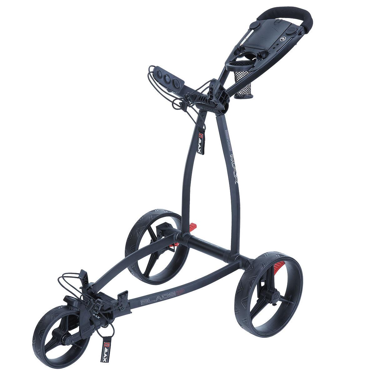 BIG MAX Blade IP Golf Trolley, Black | American Golf