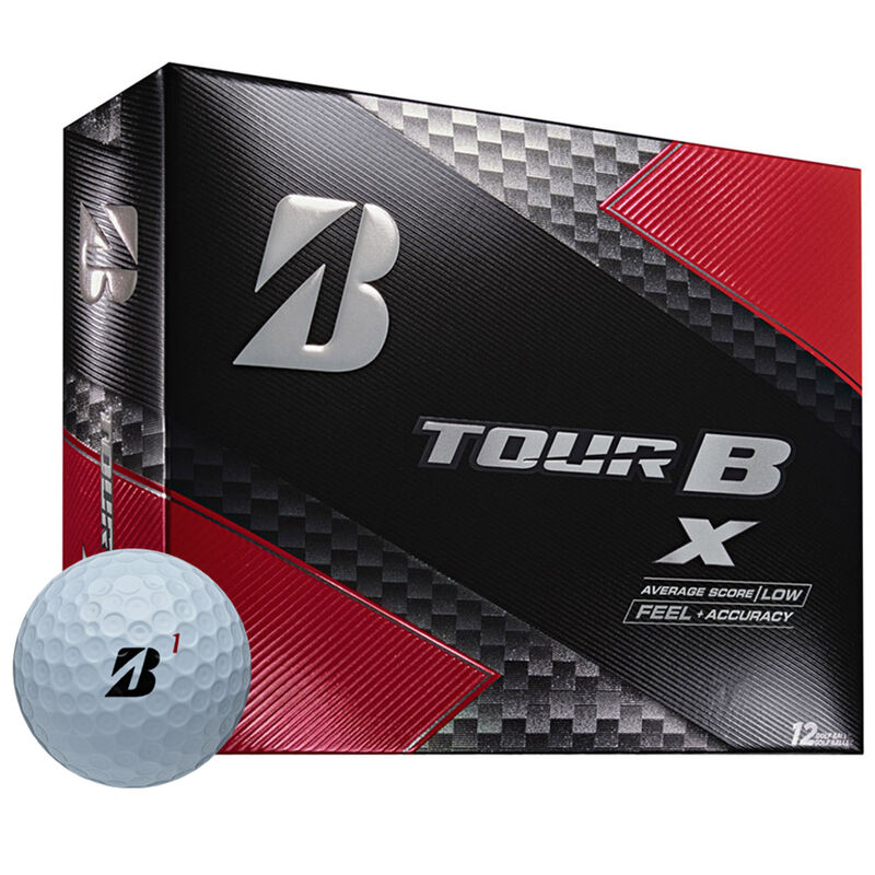 Bridgestone Golf Tour B X 12 Ball Pack Male White