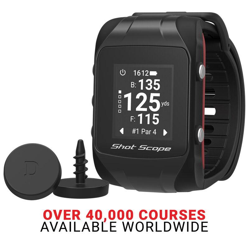 Shot Scope V2 Smart GPS Watch Male Black