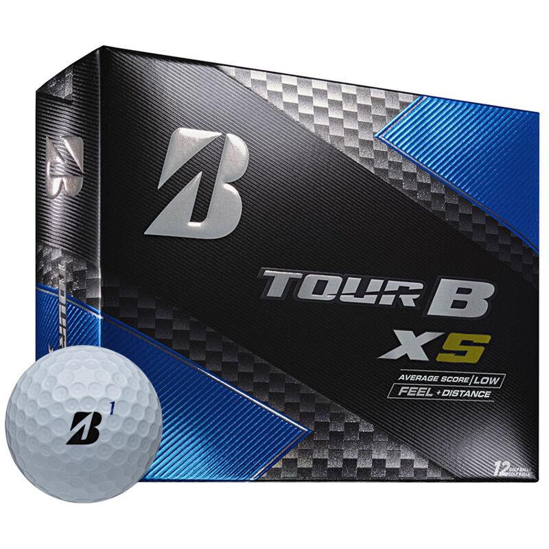 Bridgestone Tour B XS 12 Ball Pack Male White