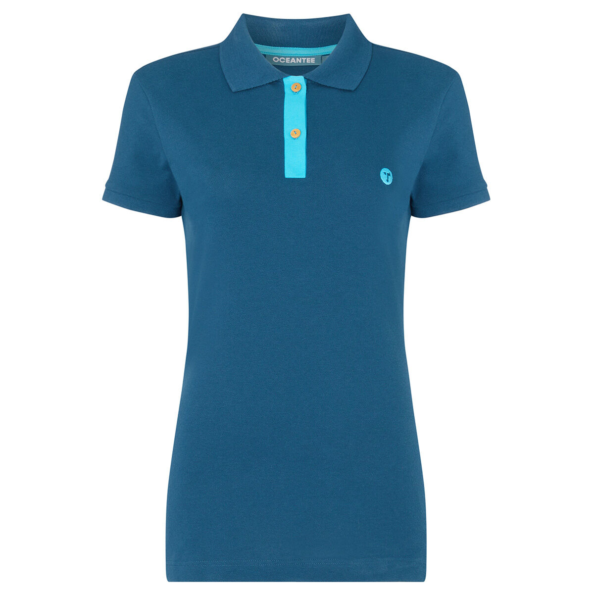 OCEANTEE Mako Ladies Golf Polo Shirt, Female, Navy, XS