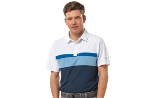 Palm Grove Colour Block Polo Shirt