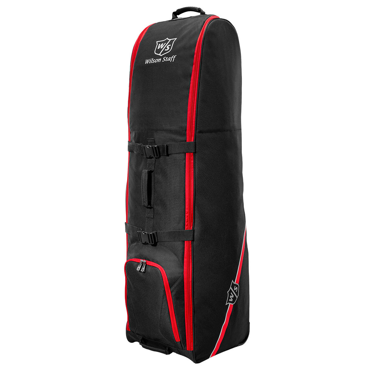 Wilson Staff Black Wheeled Travel Cover, One Size | American Golf