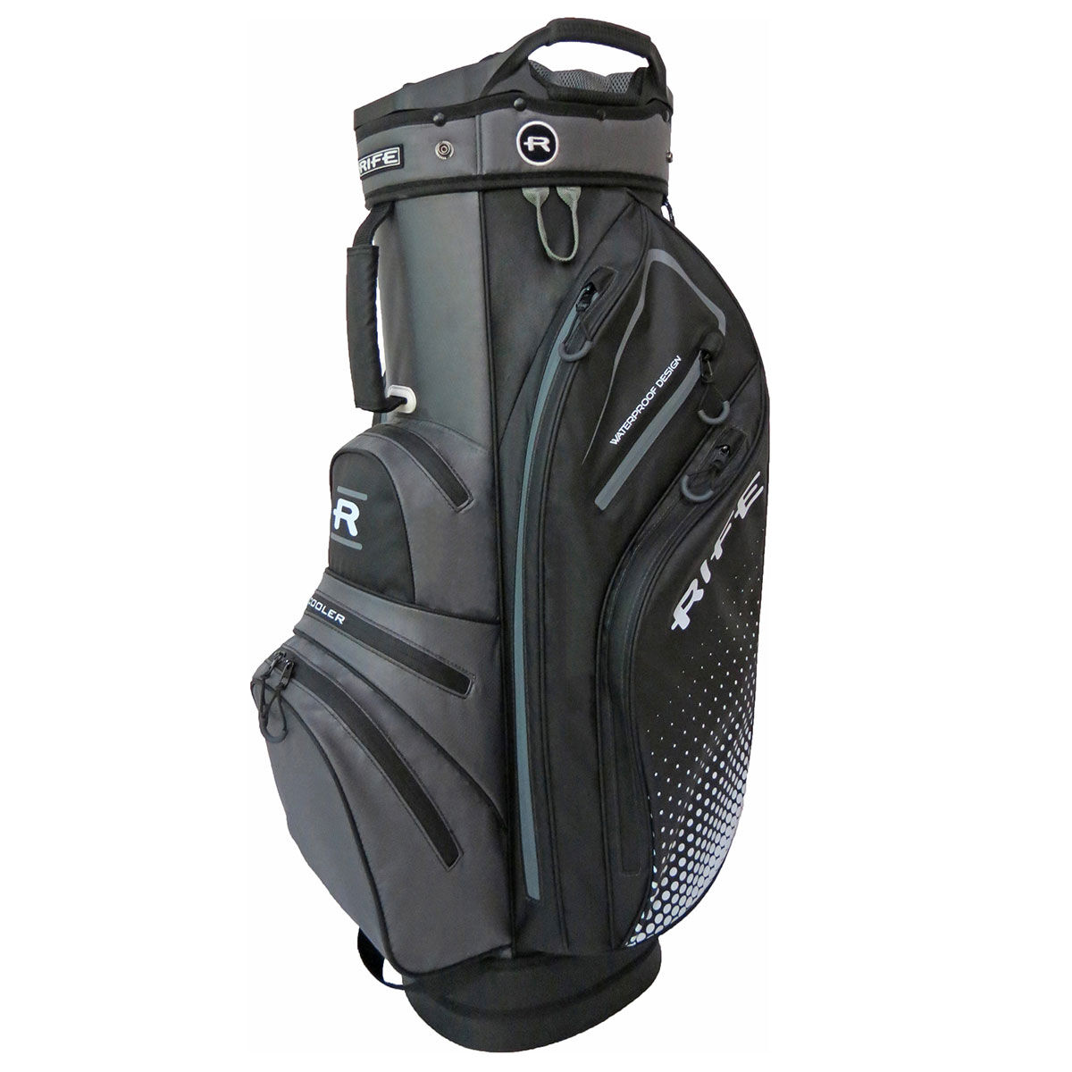 Rife Black Waterproof Golf Cart Bag, Size: One Size   American Golf   American Golf