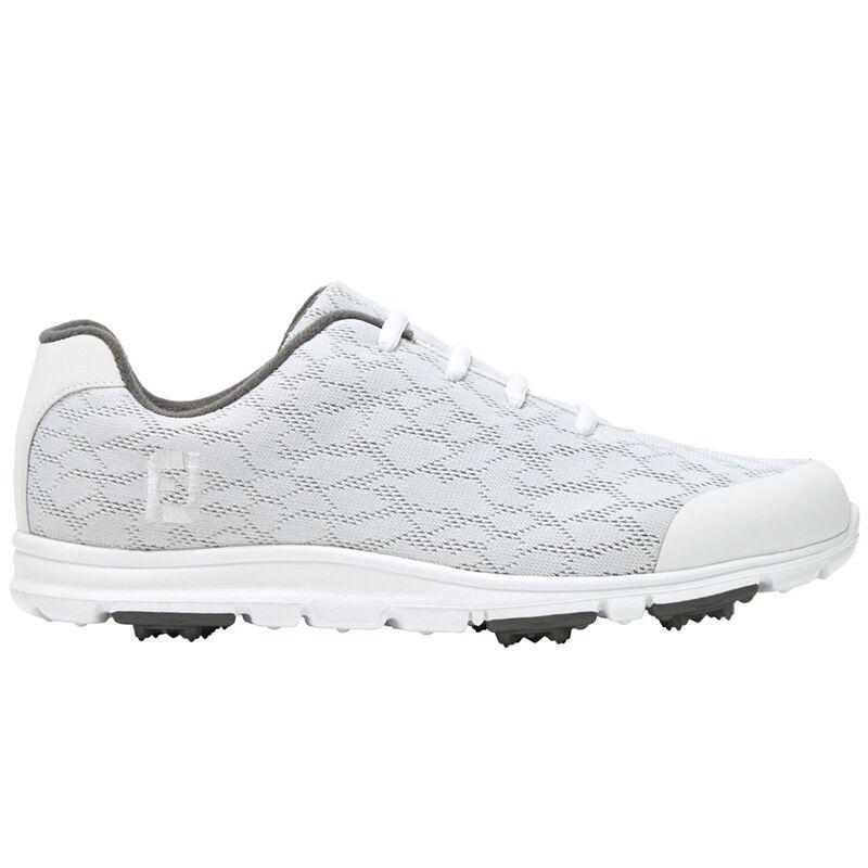 FootJoy Enjoy Ladies Shoes Female WhiteGrey 7 Regular