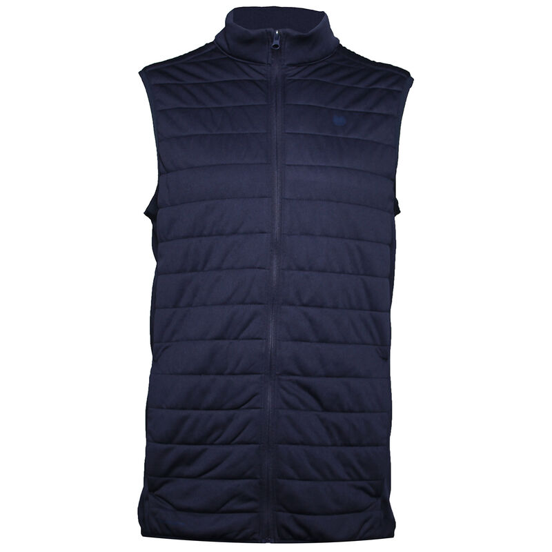 Palm Grove Quilted Vest Male Peacoat XL
