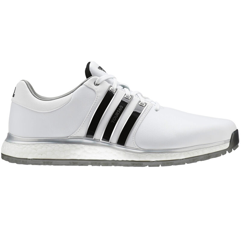 adidas Golf Tour 360 XT SL Shoe Male WhiteBlackSilver 9 Wide