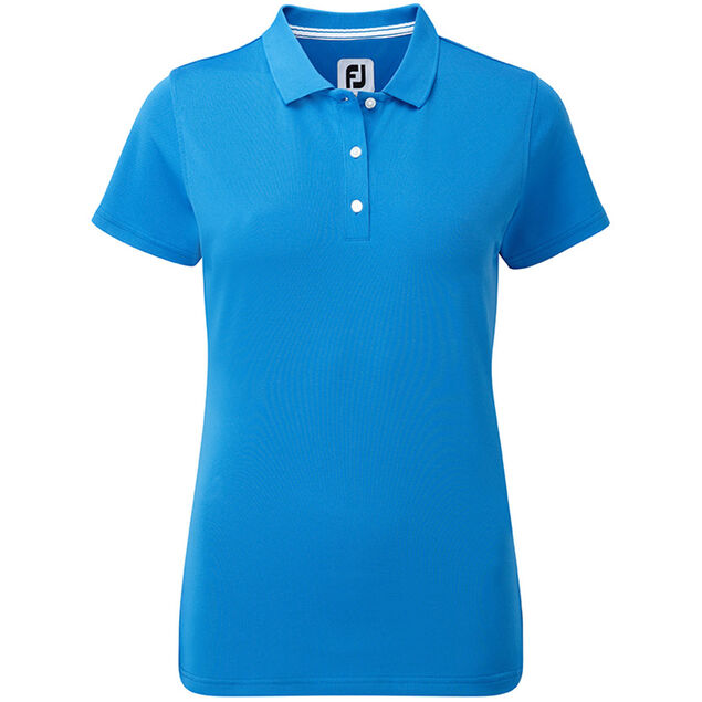 20534536 FootJoy Stretch Pique Solid Ladies Polo Shirt from american golf