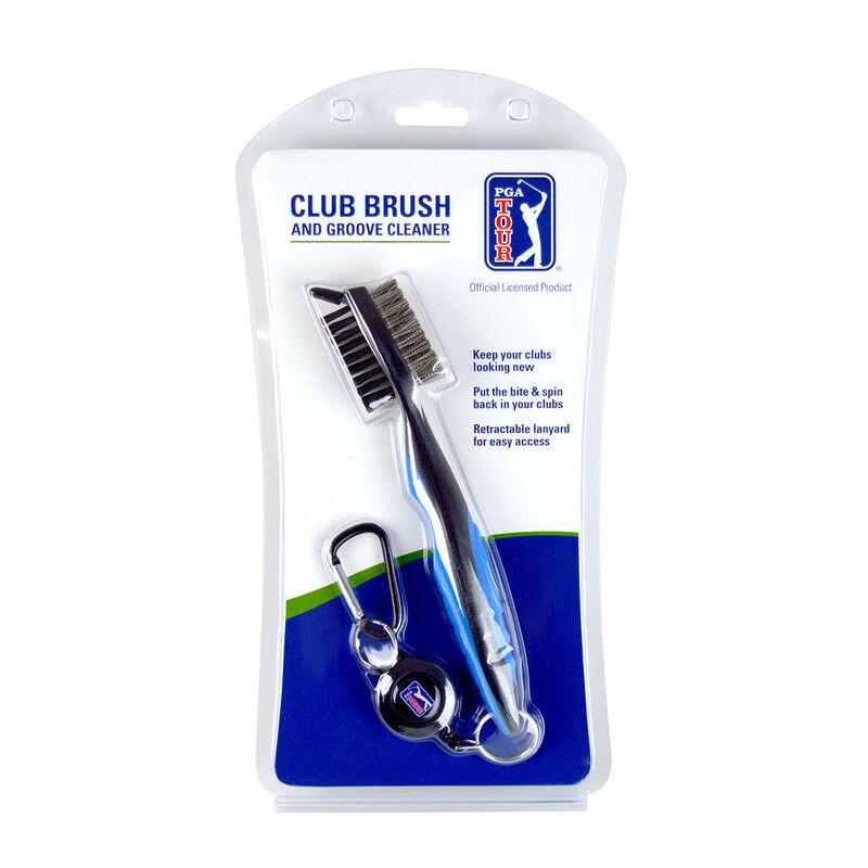 PGA Tour Club Brush Groove Cleaner Male Grey