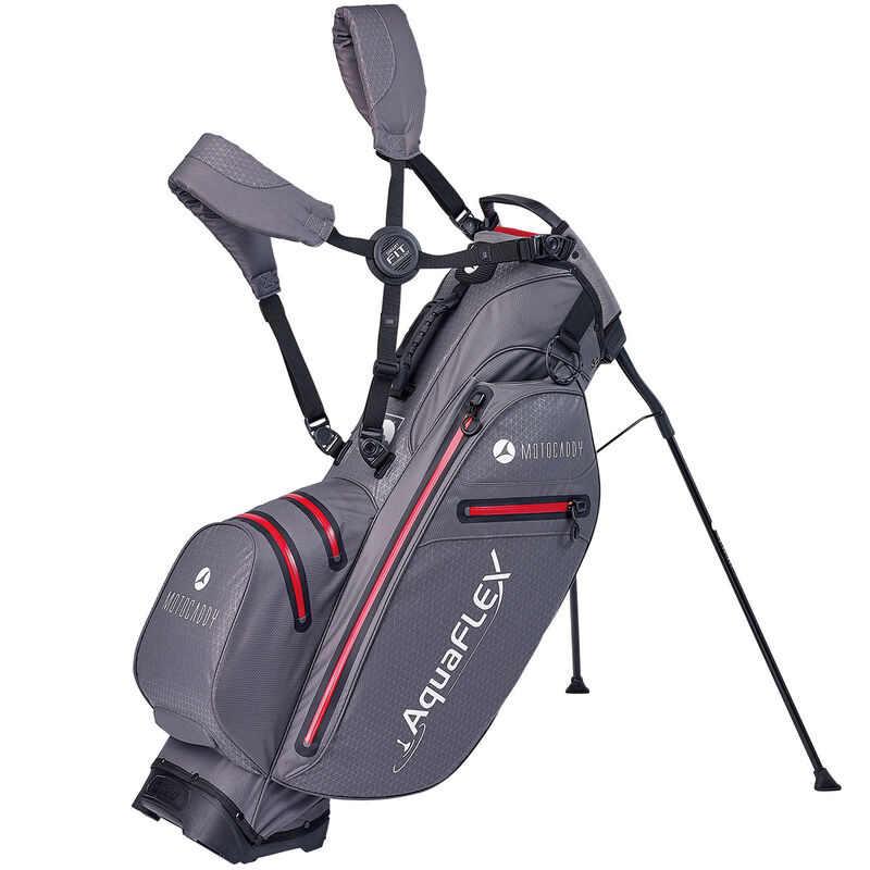 Motocaddy AquaFLEX Stand Bag Male CharcoalRed