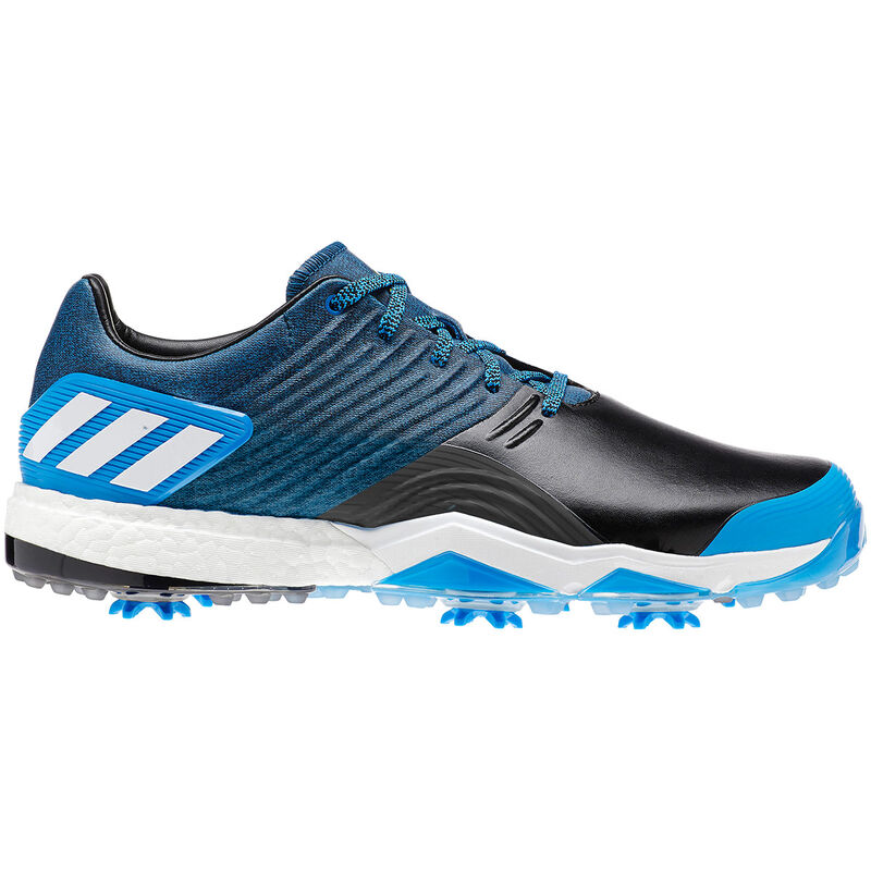 adidas Golf Adipower 4Orged Shoes Male Bright BlueCore BlackYellow 8 Wide