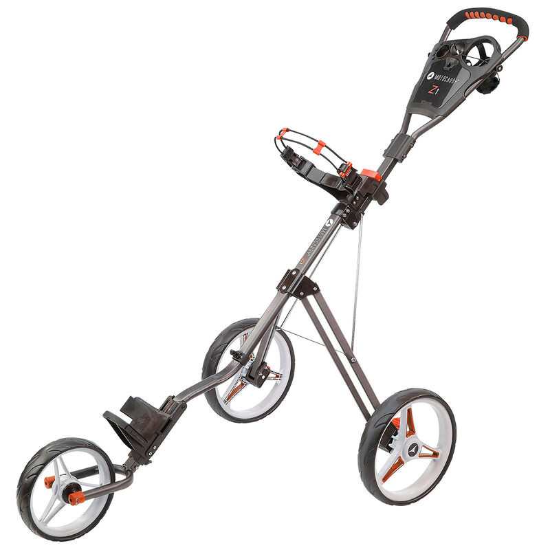 Motocaddy Z1 Push Trolley Male Power Red
