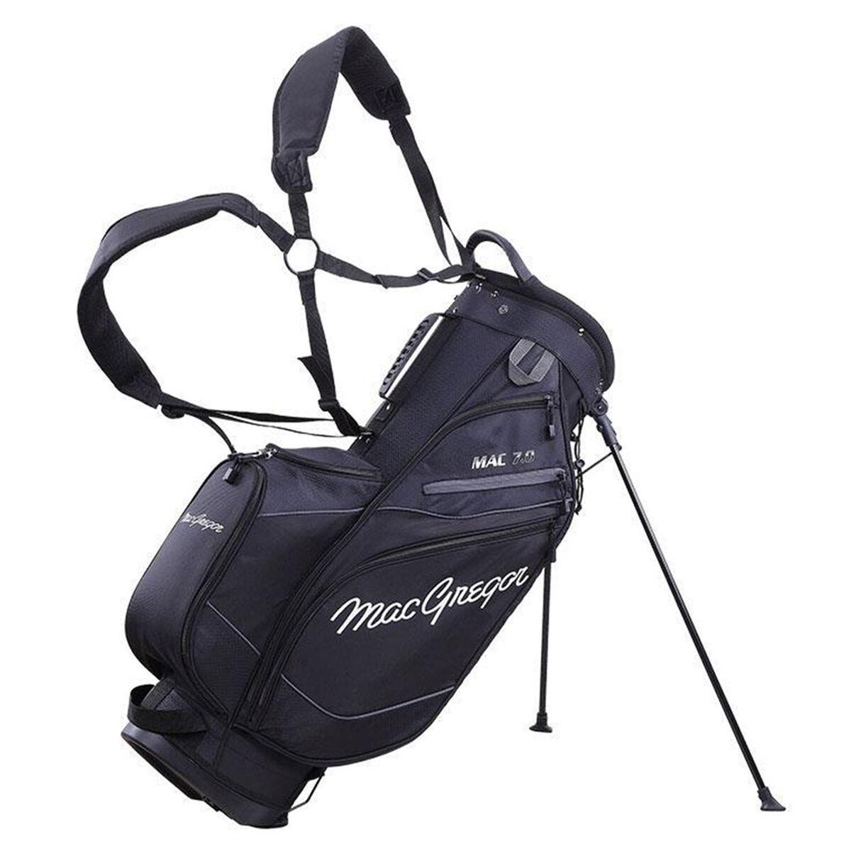MacGregor MAC 7.0 Golf Stand Bag, Black   American Golf