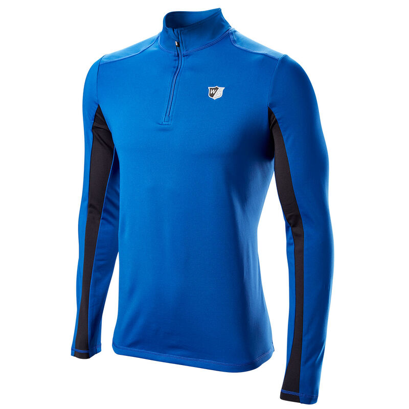 Wilson Staff Performance Thermal Tech Windtop Male Blue Large