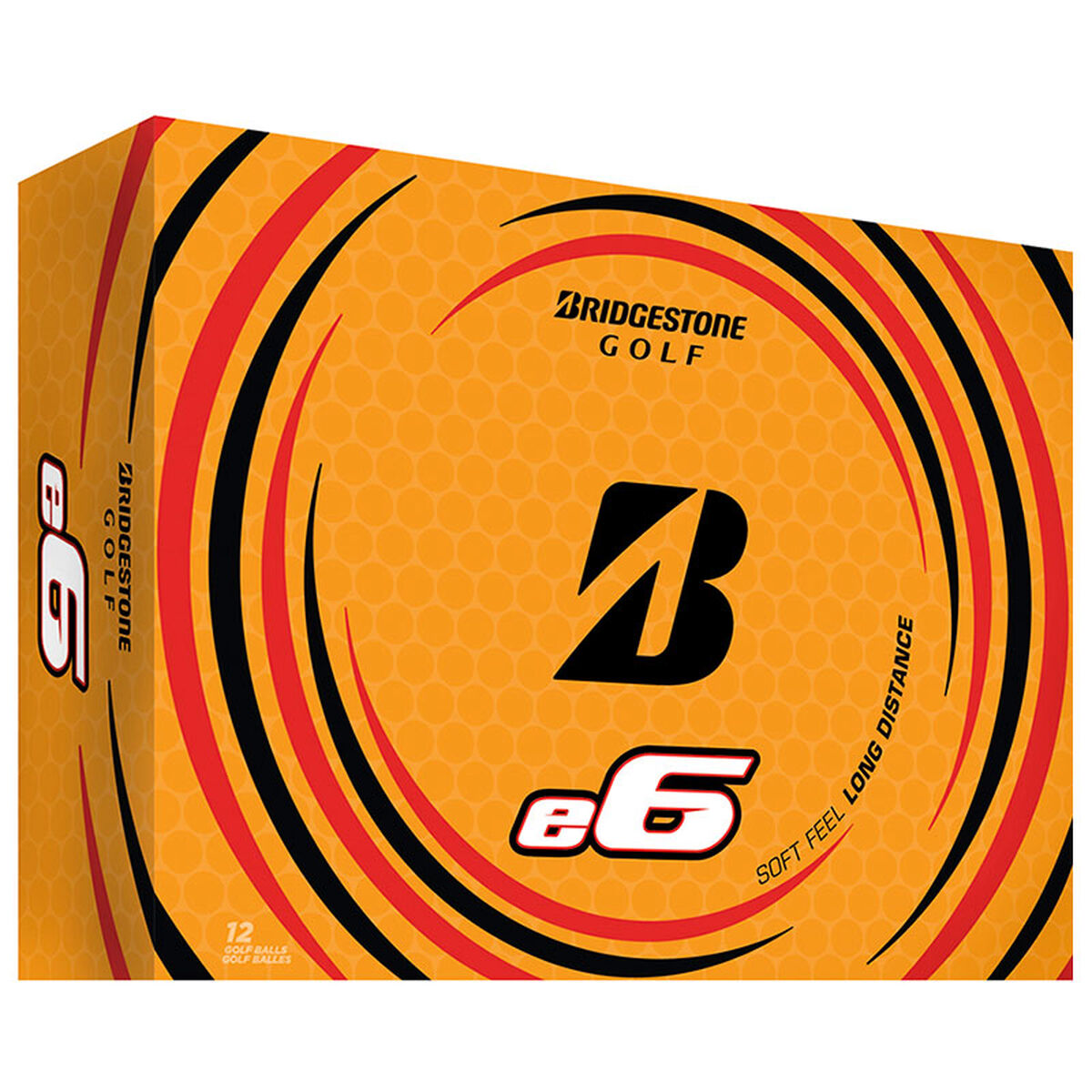 Bridgestone Golf e6 12 Ball Pack, Male, White, One Size | American Golf