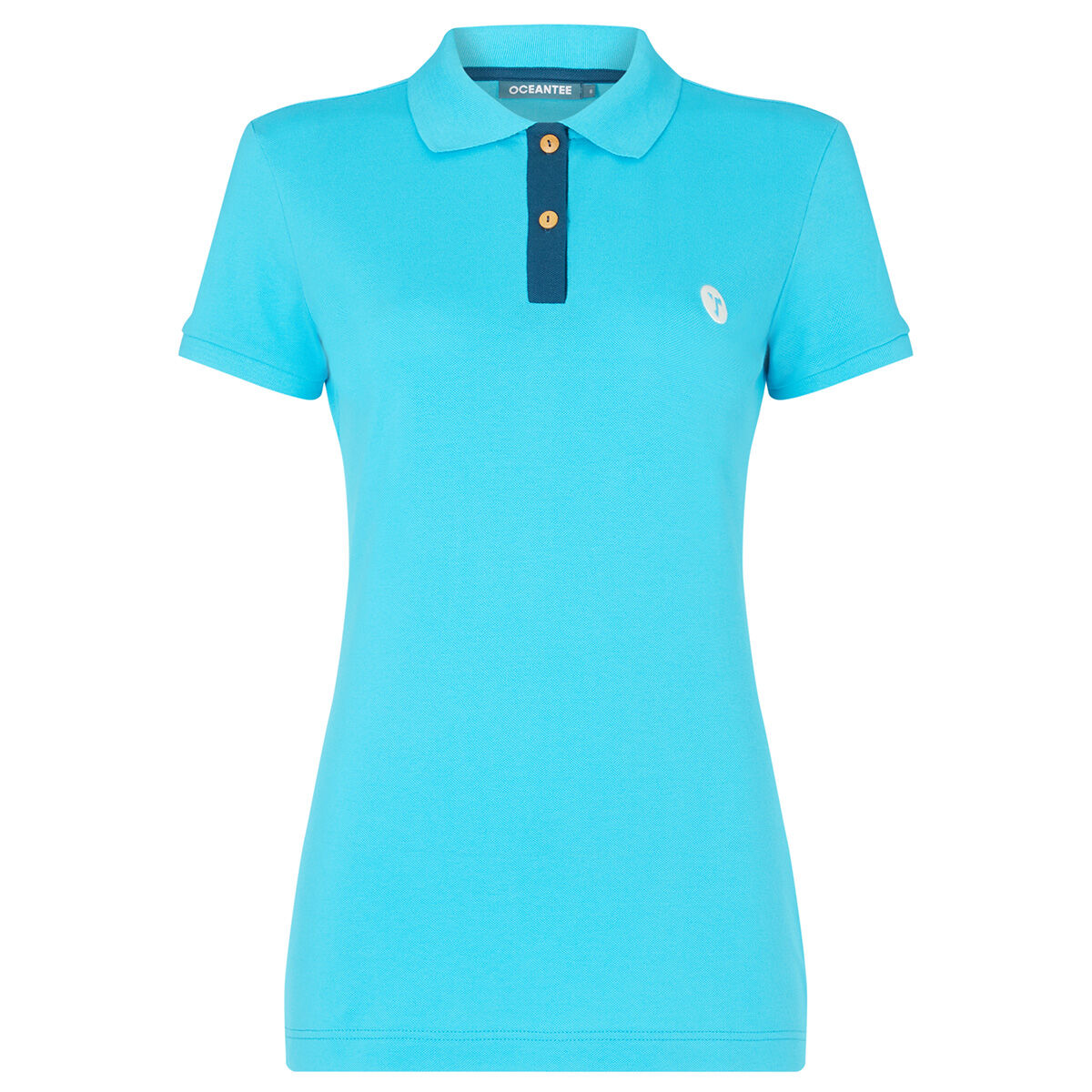 OCEANTEE Mako Ladies Golf Polo Shirt, Female, Aqua, XS