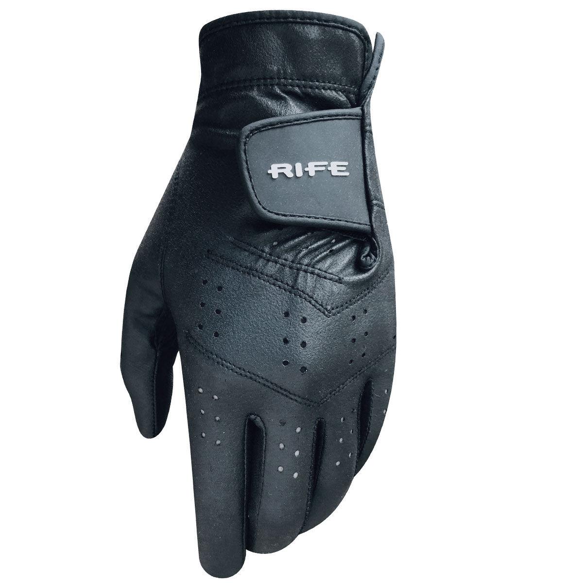 Rife Black RX2 All Weather Left Hand Golf Glove, Size: XL   American Golf   American Golf