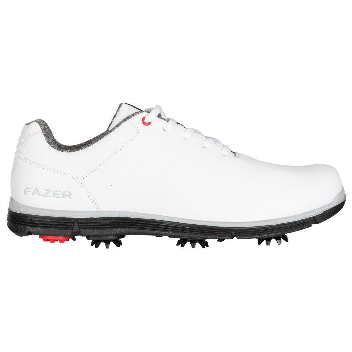 Fazer FZ-01 Strike Golf Shoes, Male, White, 8, Regular