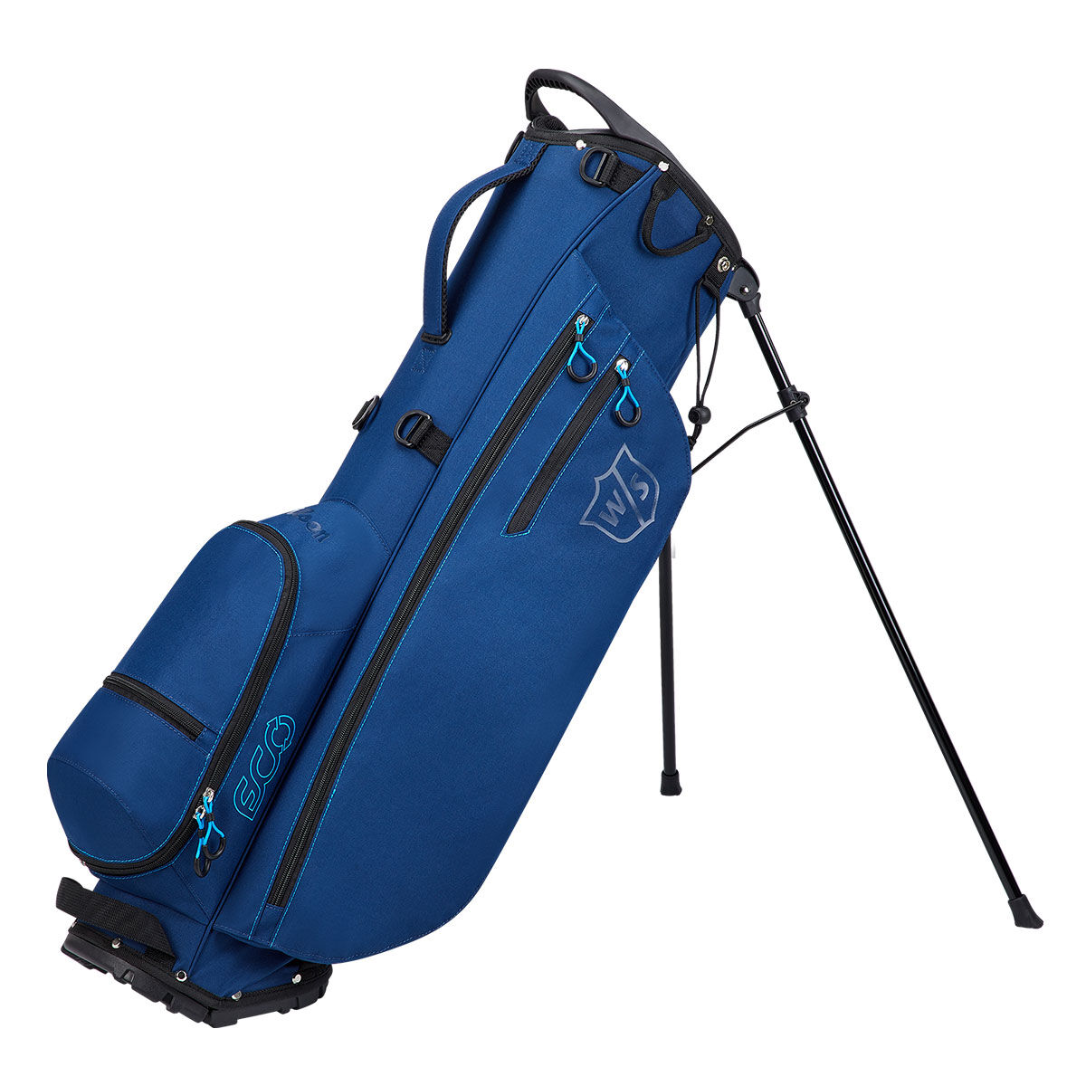 Wilson Staff ECO Carry Bag, Male, Blue, One Size | American Golf