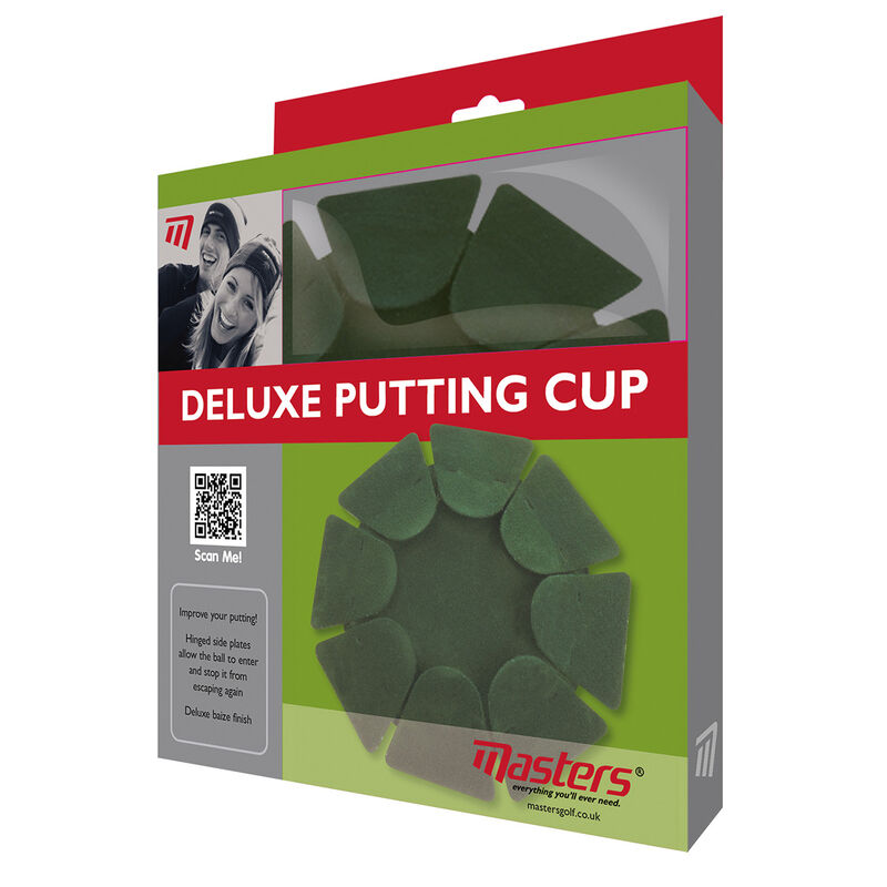 Masters Golf Deluxe Putting Cup Male Green One Size