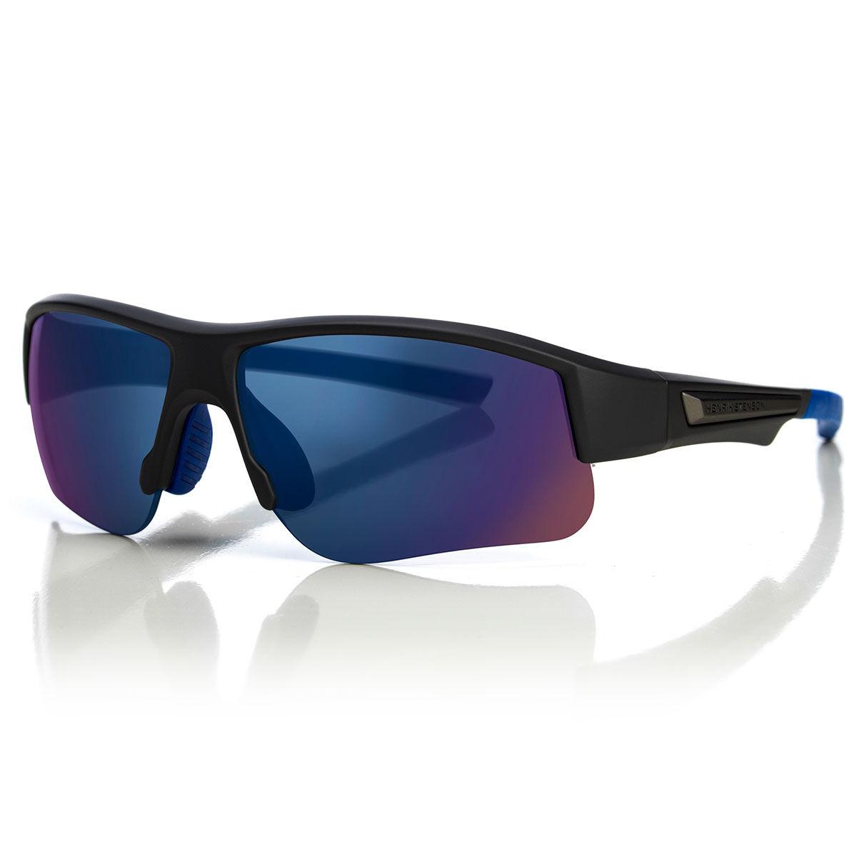 Henrik Stenson Stinger 3.0 Sunglasses, Mens, Grey/blue/smoke/blue mirror | American Golf