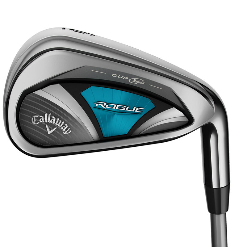 Callaway Golf Rogue Graphite Ladies Irons Female 6 SW 6 Irons Right Hand Graphite Lady Flex