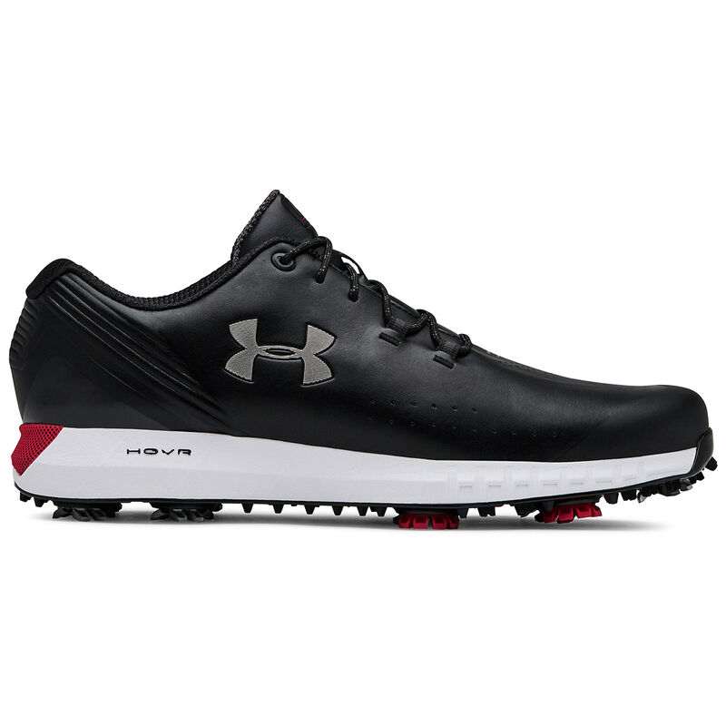 Under Armour HOVR Drive Shoes Male BlackBlackMetallic Gun Metal 8 Wide