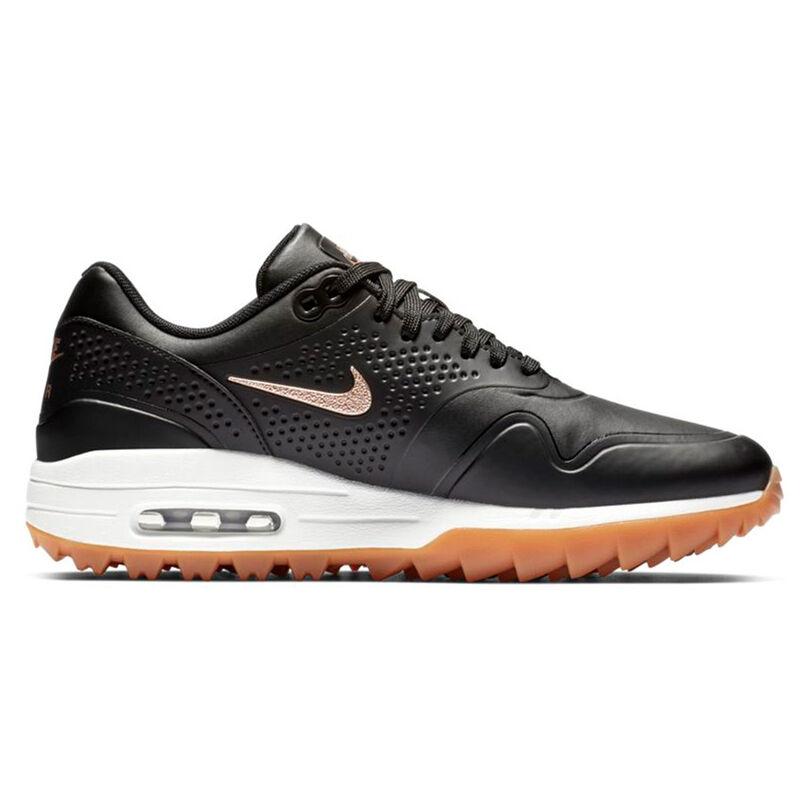 Nike Golf Air Max 1G Ladies Shoes Female BlackRed BronzeSummit White 4 Regular
