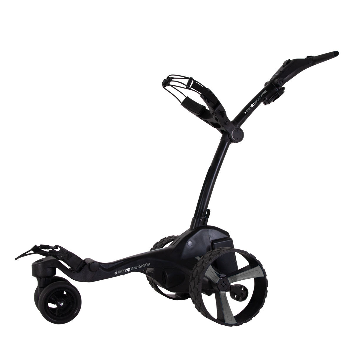 "MGI Golf Black Zip Navigator Remote Control Lithium Electric Golf Trolley, Size: 27.55x18.5x16.5""   American Golf   American Golf"