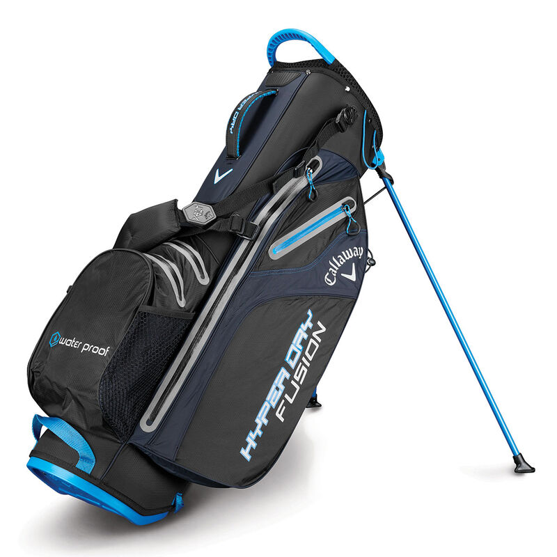 Callaway Hyper Dry Fusion Stand Male BlackRoyalSilver