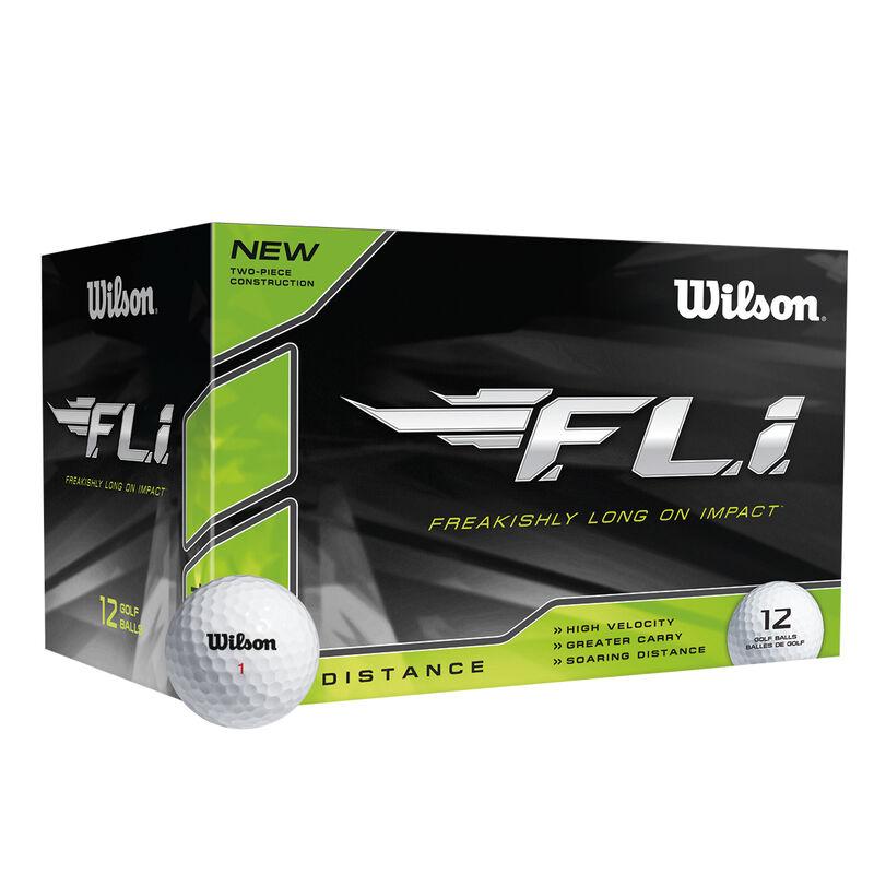 Wilson FLi 12 Ball Pack Male White